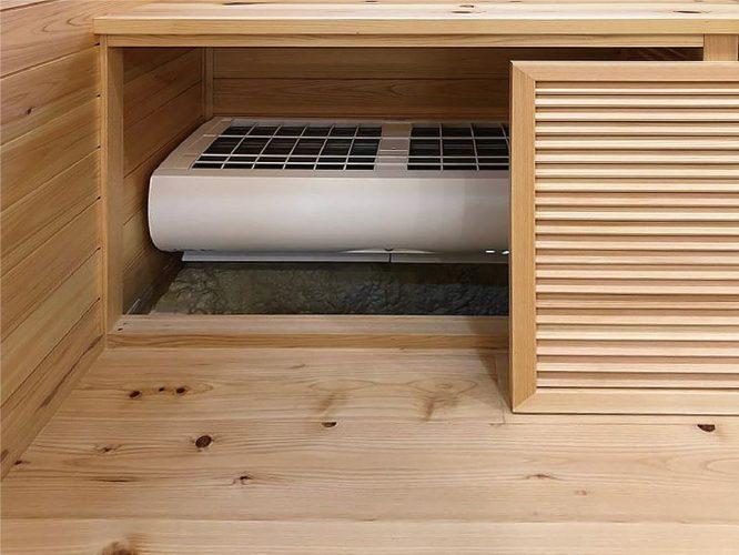 床下エアコン01
