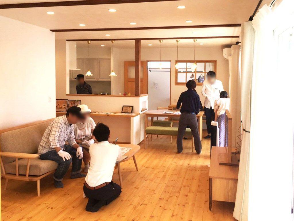 自然素材の家新築完成見学会