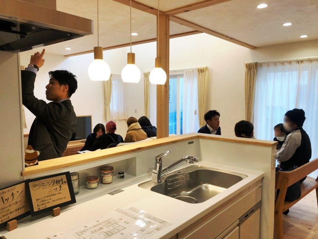 暮らしやすさを追求した家完成見学会