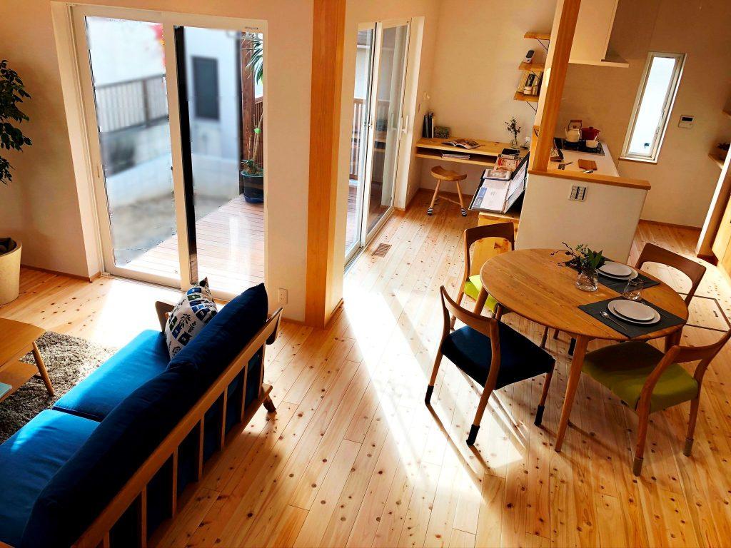 新築住宅完成見学会の室内