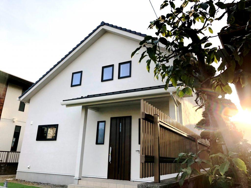 アイジースタイルハウス新築住宅完成見学会場の外観