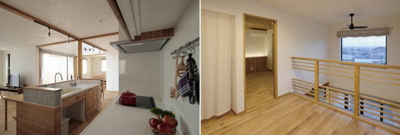 キッチン・2Fホール