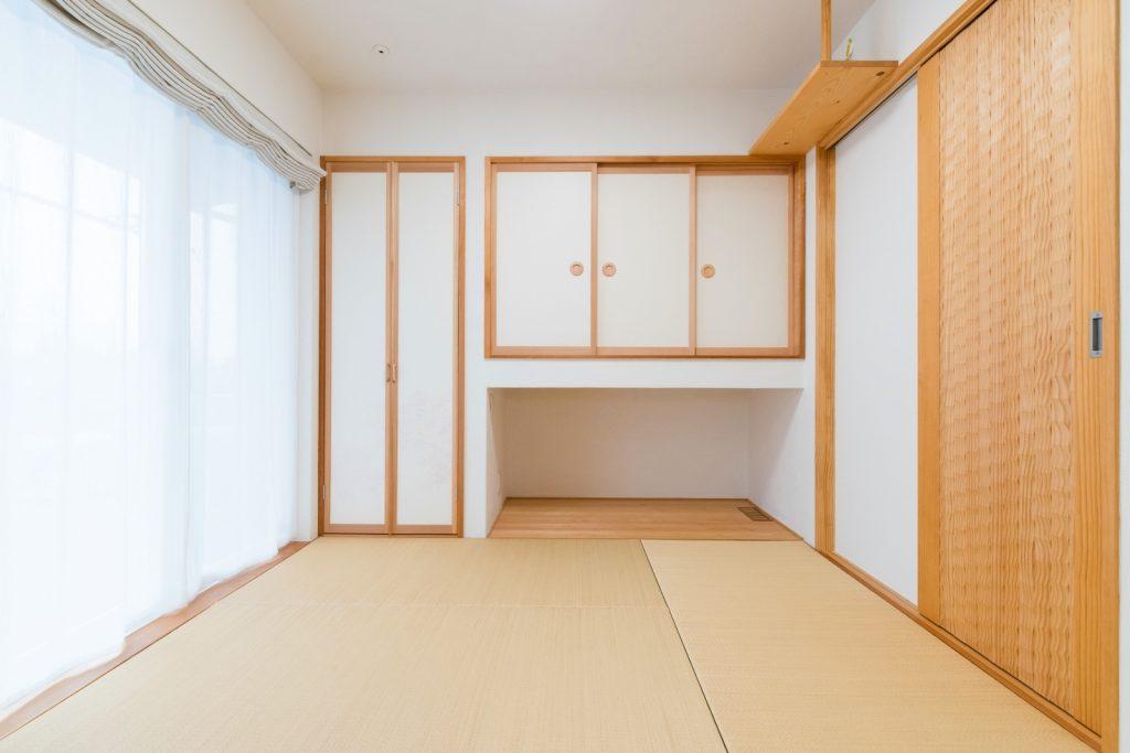 収納力も部屋干しも◎便利な和室