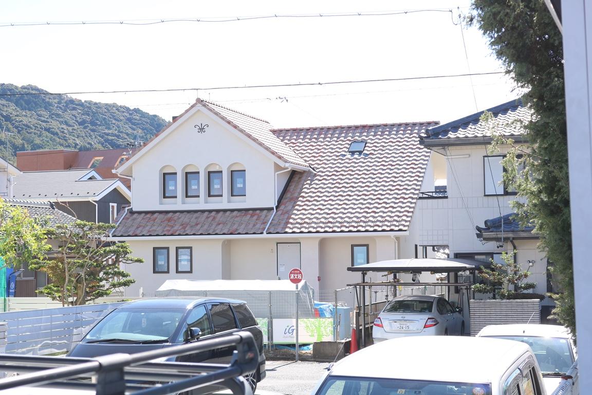春日井市プロヴァンススタイル住宅の外観