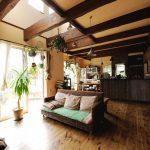本物のアンティークへ 家族と共に成長する家