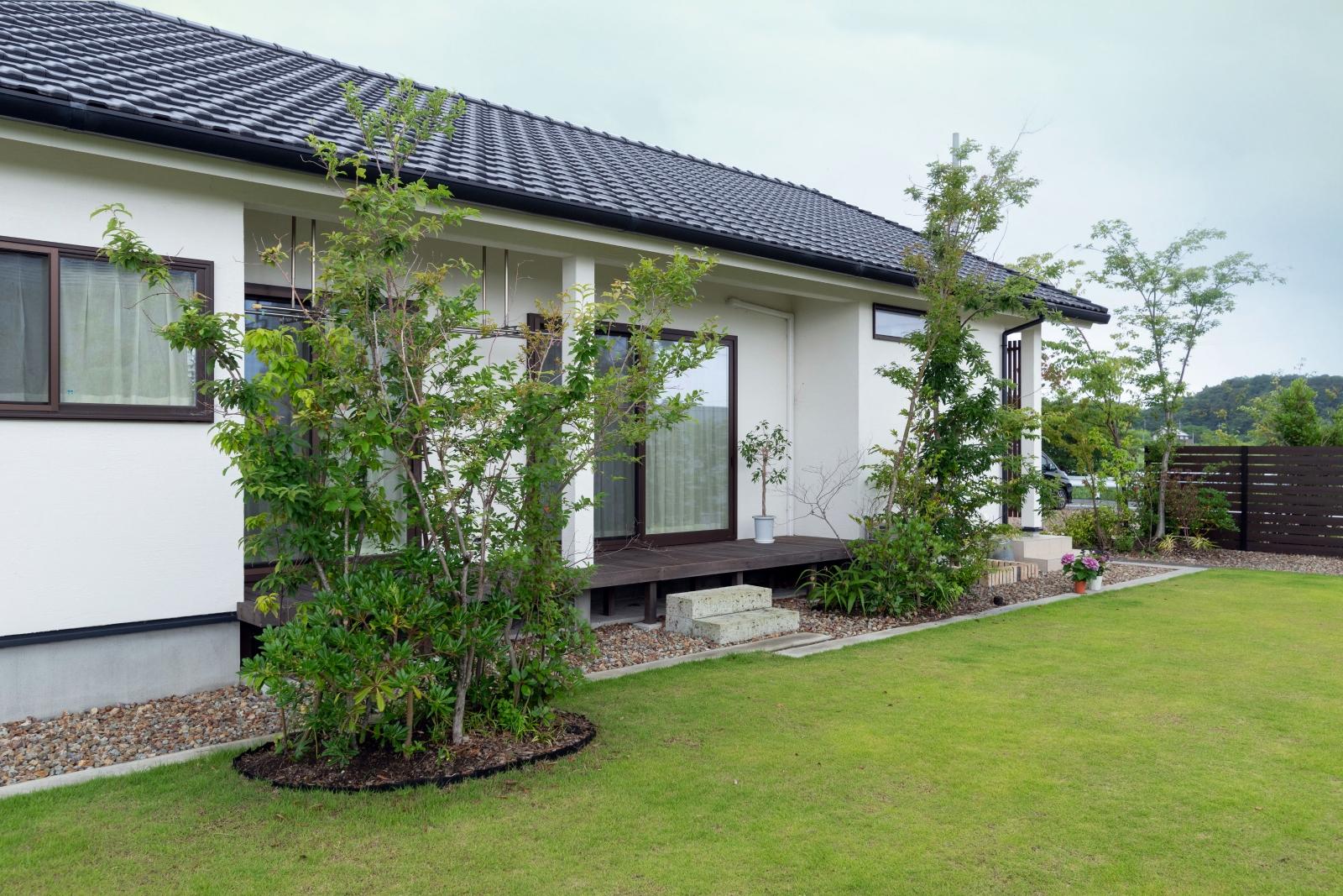 和モダン平屋住宅のマイホーム