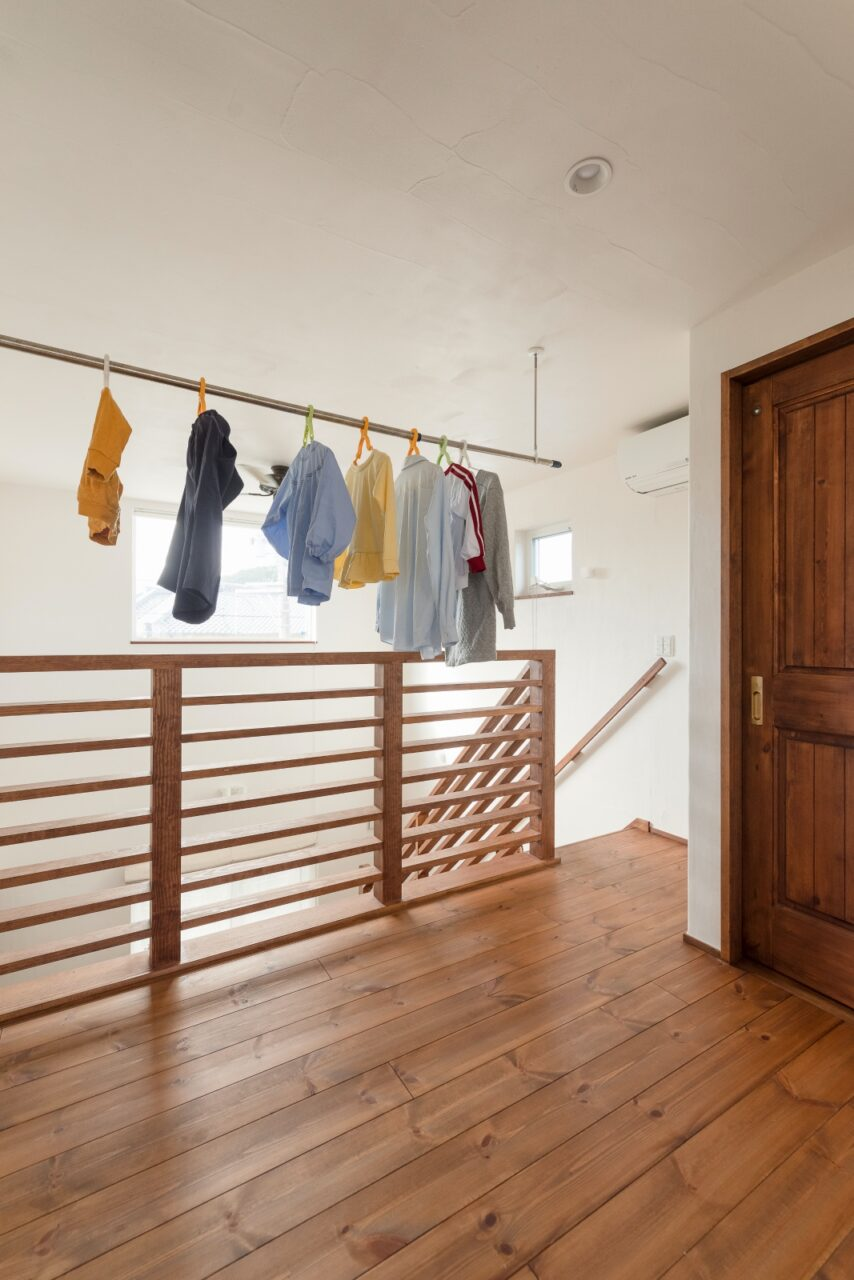 部屋干し◎リビングから繋がる2階ホール