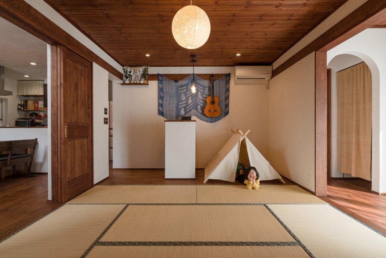 和空間で笑顔になる!漆喰×無垢のマイホーム