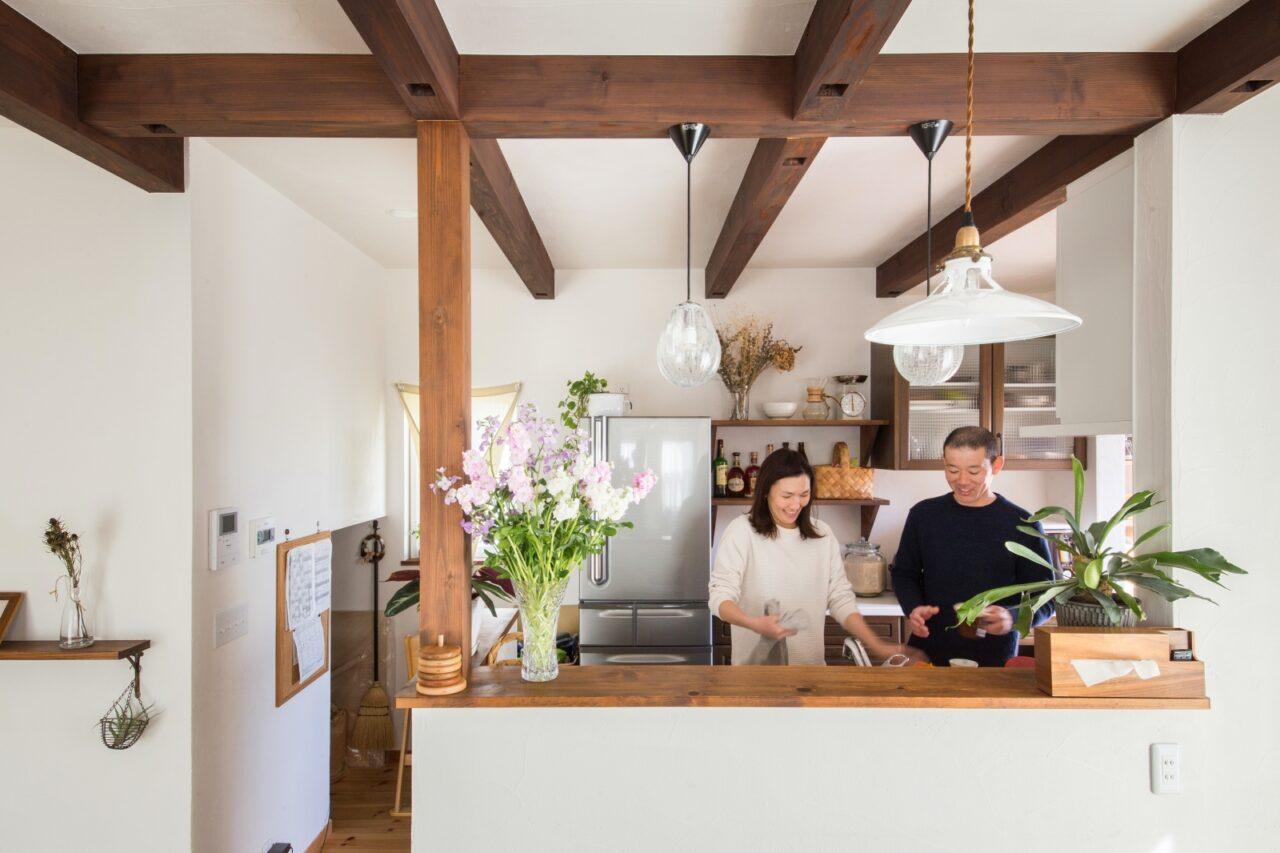 ご夫婦一緒にゆったり立てるキッチン