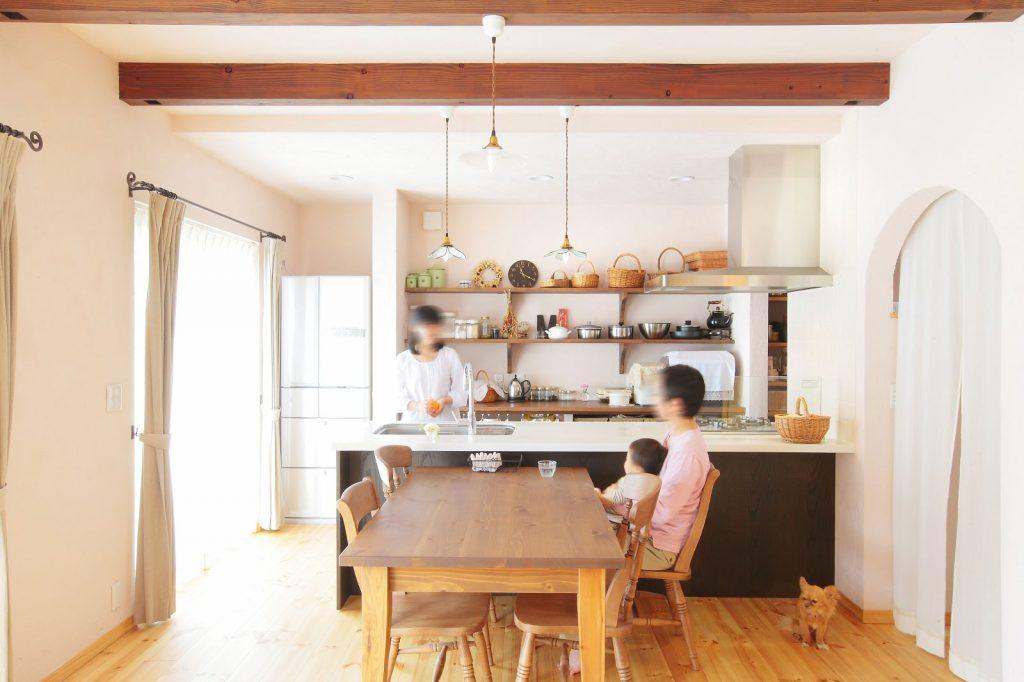 家族の生活と趣味趣向までまとっているスタイルの家