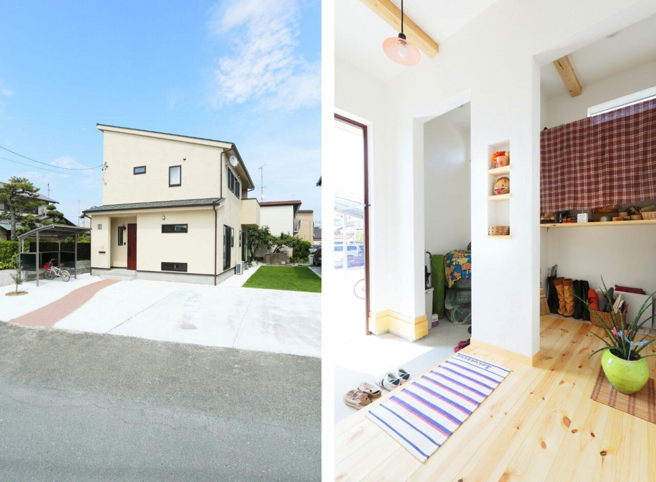 自然素材・無垢材を使用した家がいいな