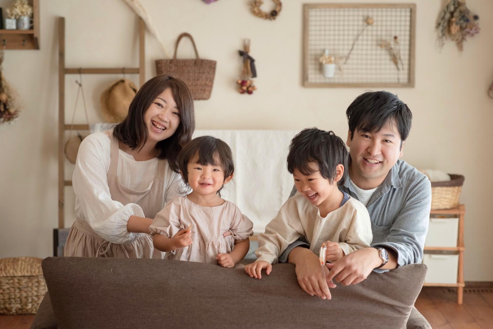 家族が笑顔になる自然素材の可愛いお家