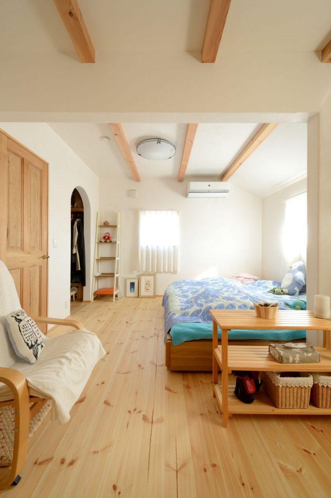 将来、洋室と2部屋に分けられる寝室