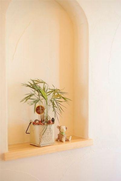 無垢材のナチュラル感+南欧風のキュートな空間。機能性も大充実!
