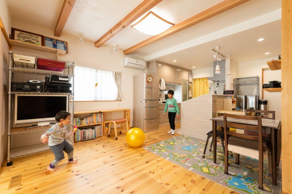 スペイン漆喰の効果でニオイのこもらない快適な室内