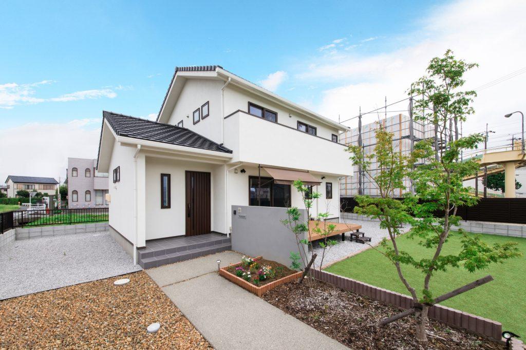 フットサルができる庭×スマートな家事動線の家