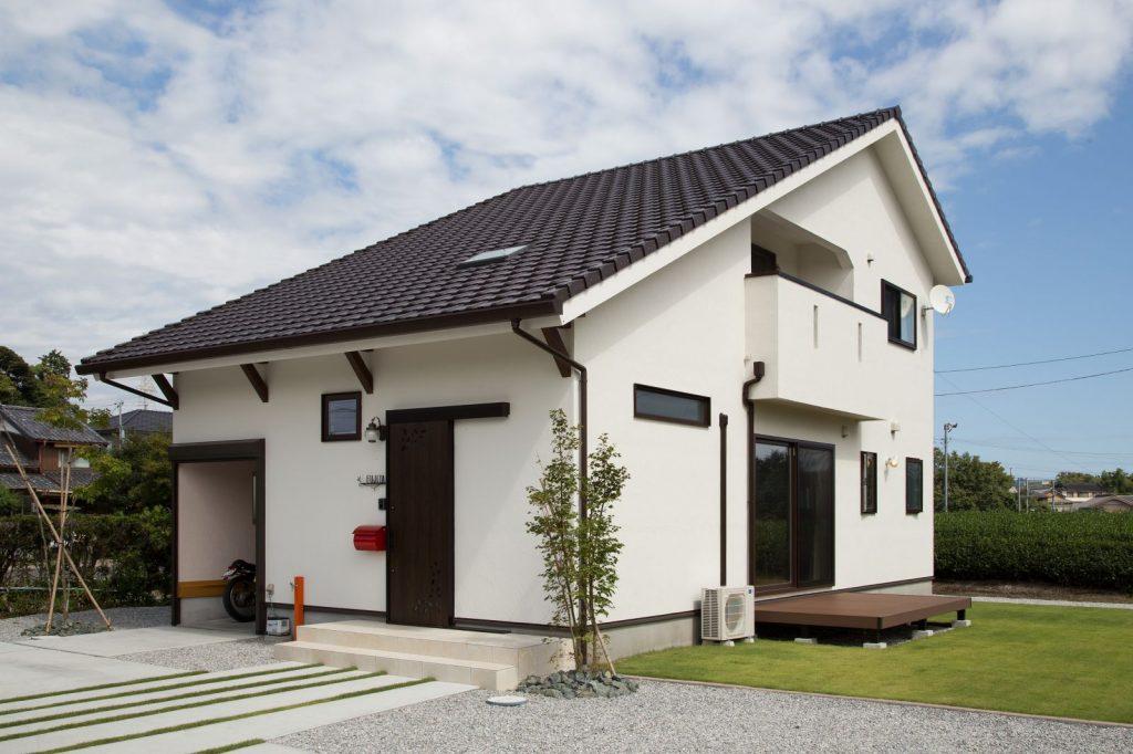 家族の笑顔が自然に増える オーガニックな大屋根の家