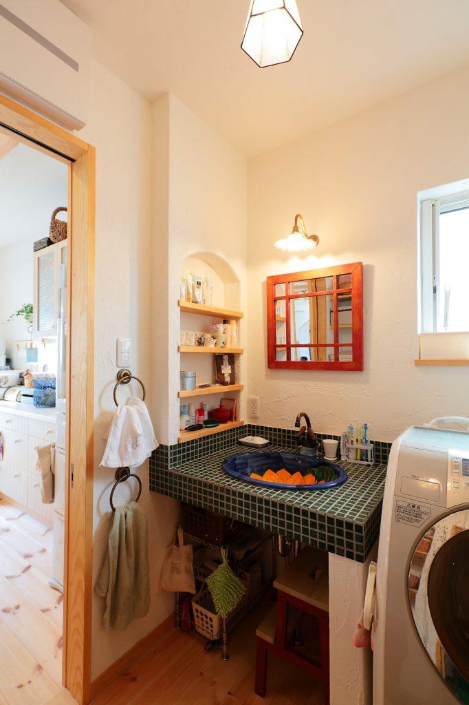 朝から家族に元気をくれる洗面化粧台