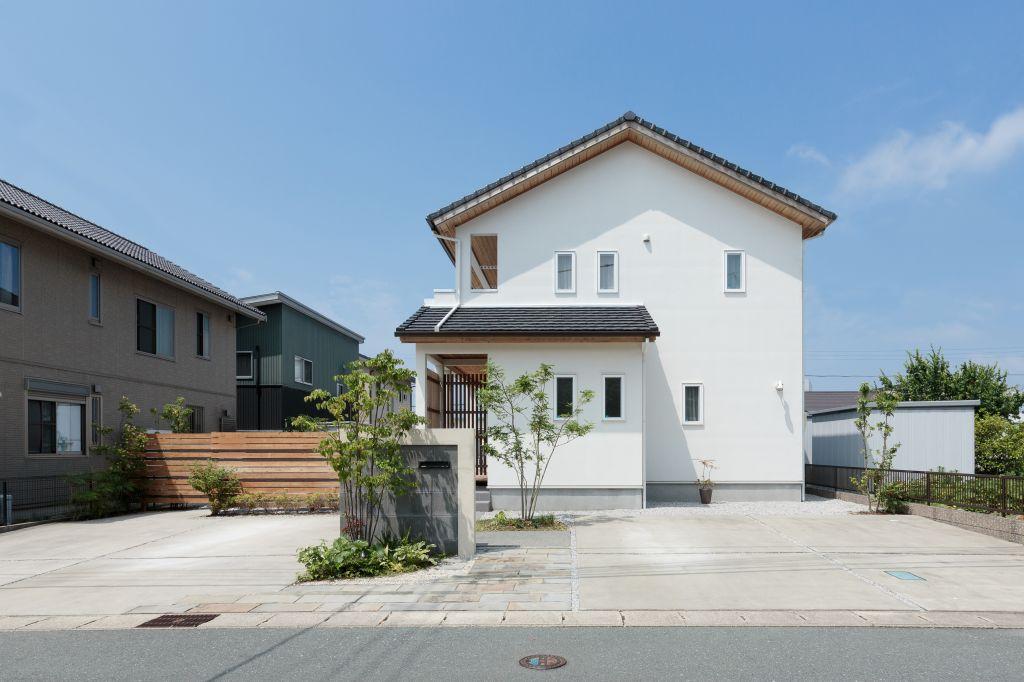 趣味を思い切り楽しめる 現代和風の家