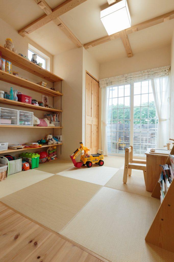 子どもの遊び場として◎畳スペース