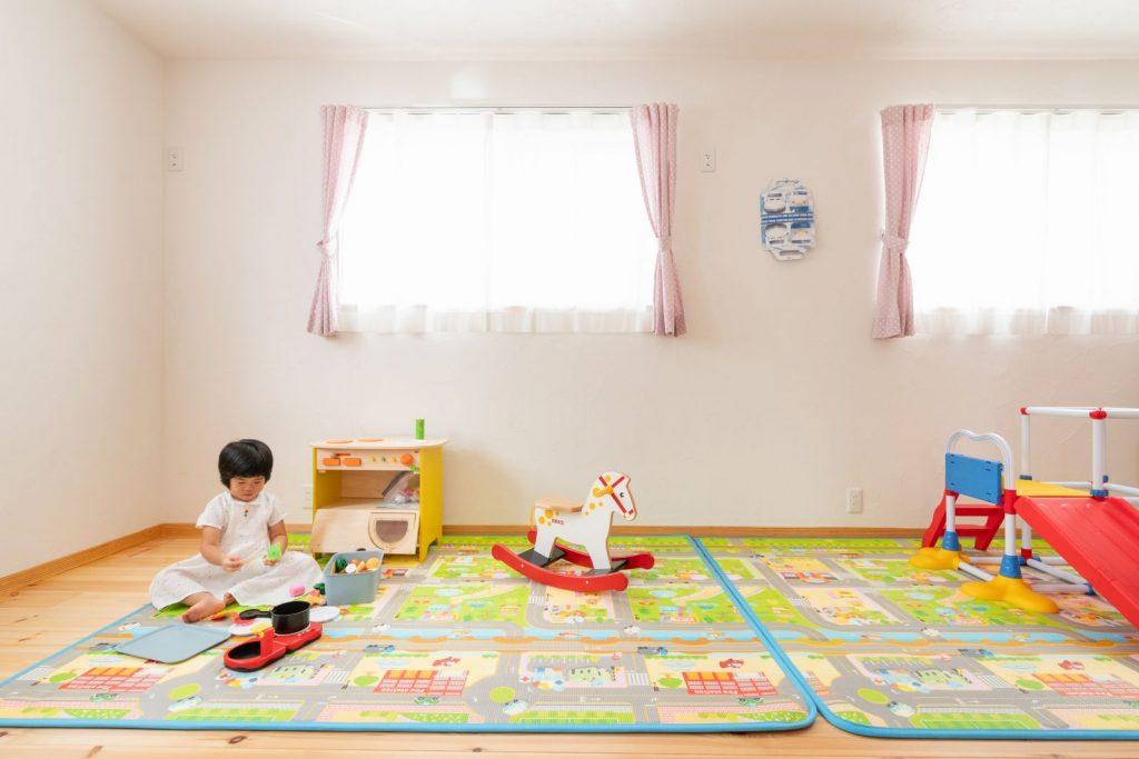 やさしい雰囲気の子ども部屋