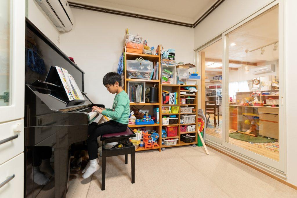 ピアノや金管楽器も◎防音性バツグンの音楽室