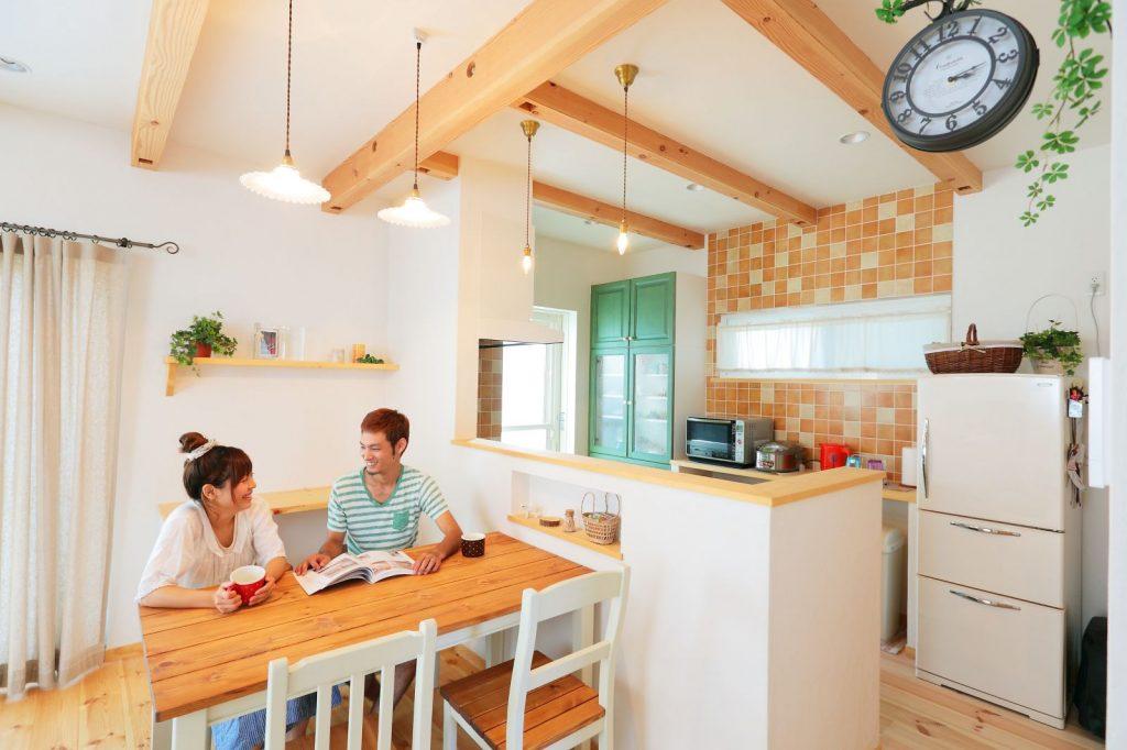 20代夫婦が建てた27.5坪のかわいい家