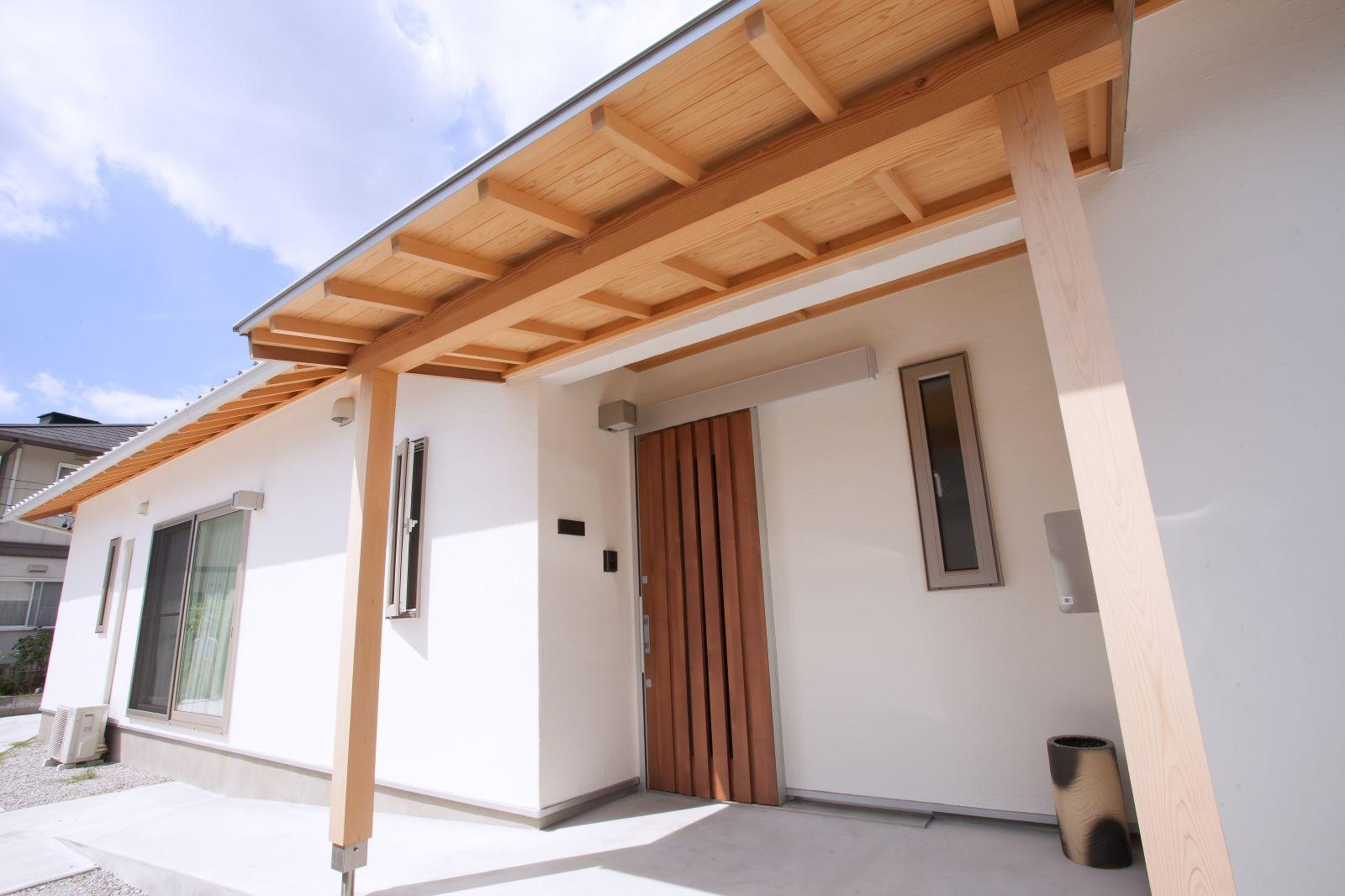 平屋造りで叶える 将来を見据えた和風の家