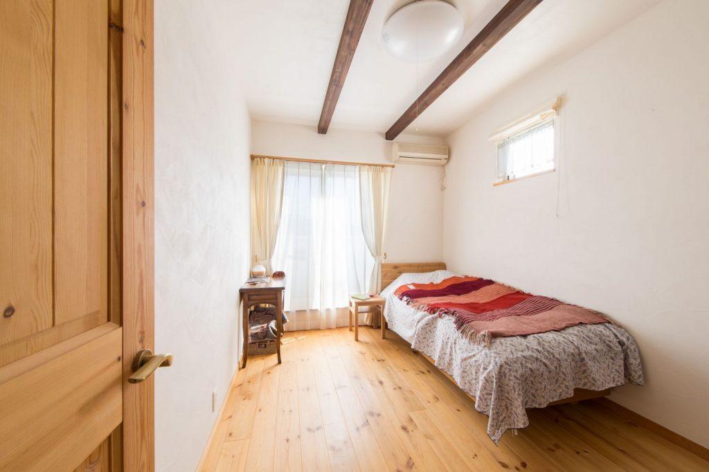 癒しのベッドルーム