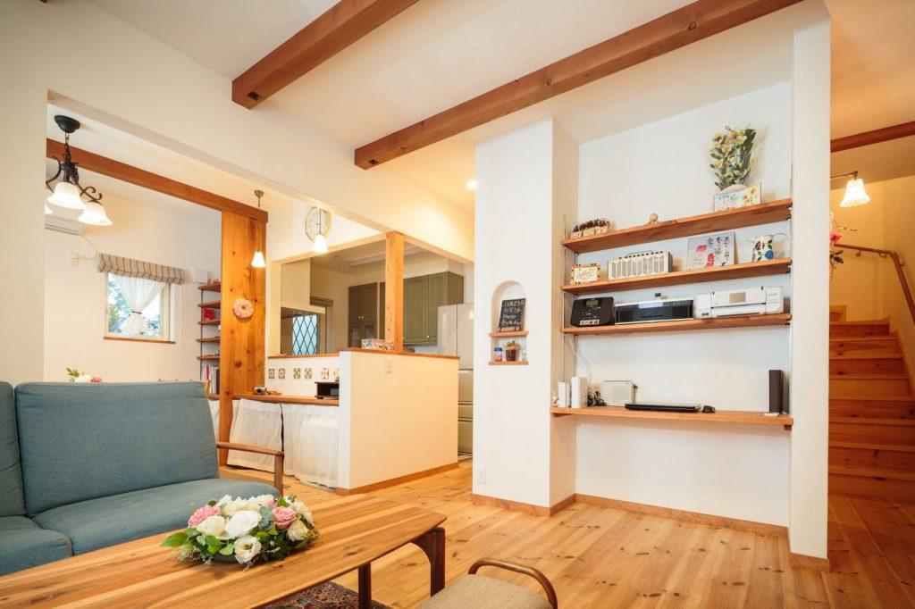 健康に配慮した自然素材や工法でつくる安心して暮らせる家