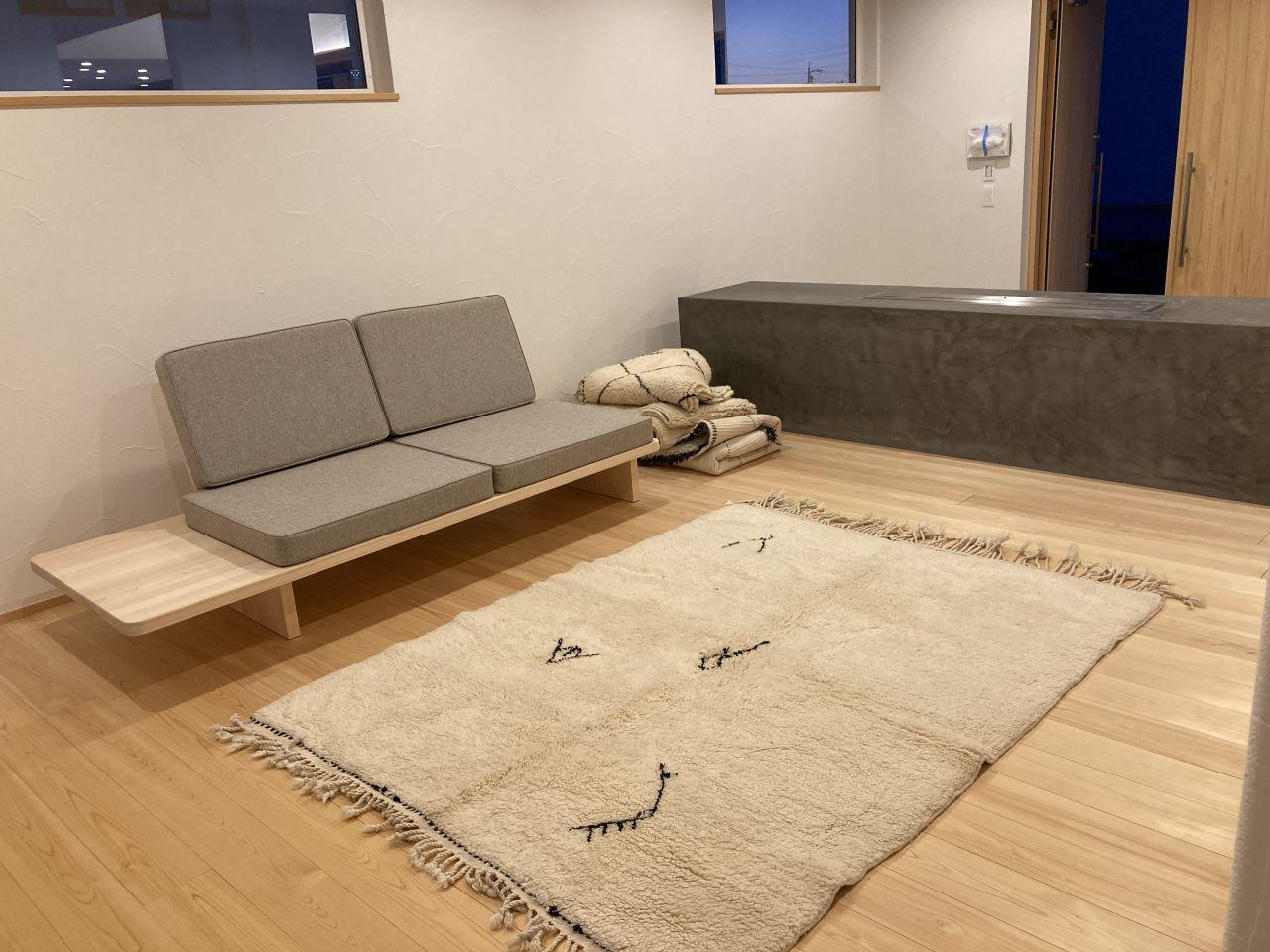 モロッコ絨毯のベニワレン