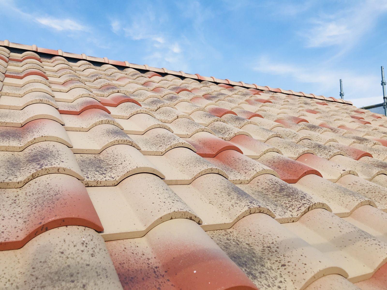 屋根瓦写真