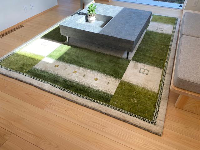ペルシャ絨毯のギャッペ
