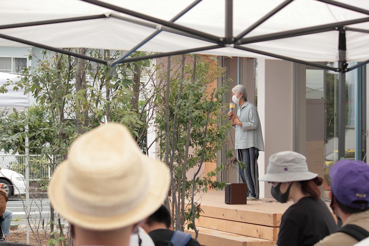 「みんなのベンチ」イベント講話 「木と人間の関わり」