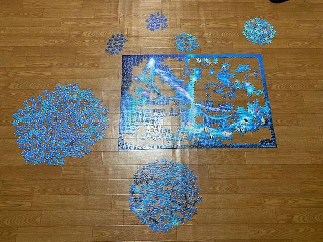 1000ピースのパズル