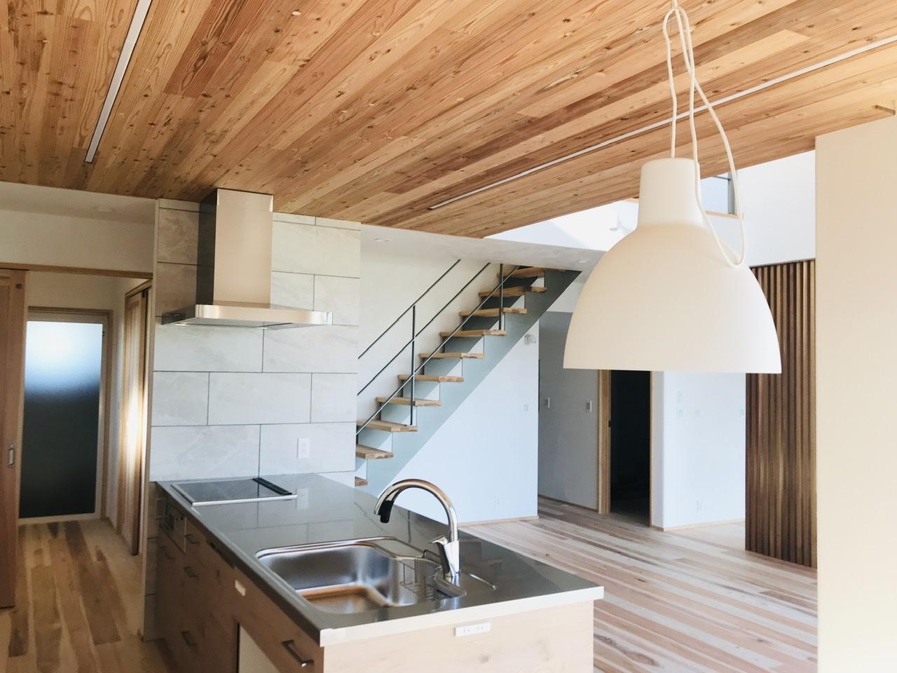 木 キッチン