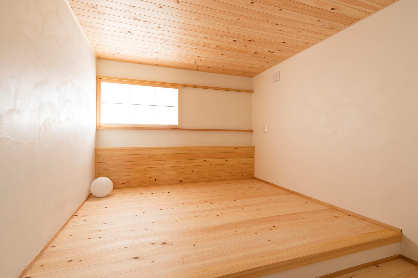 長久手モデルハウスの寝室