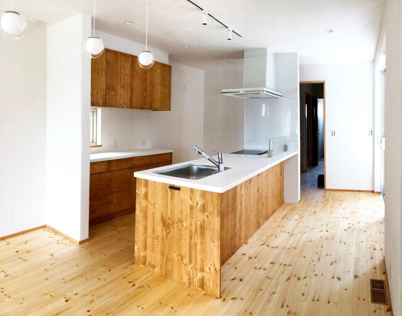 オープンキッチンの暮らし