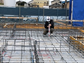 基礎工事は家を支える大切な工事です。