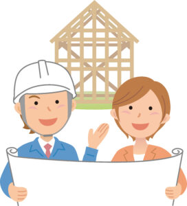 住宅建築の打合せ