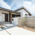 平屋×檜 シンプルに暮らす家
