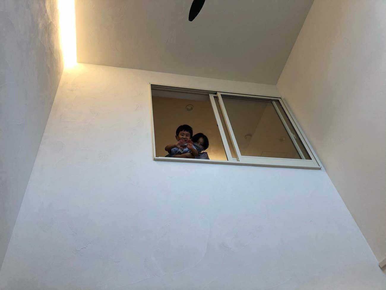 吹抜け 室内窓