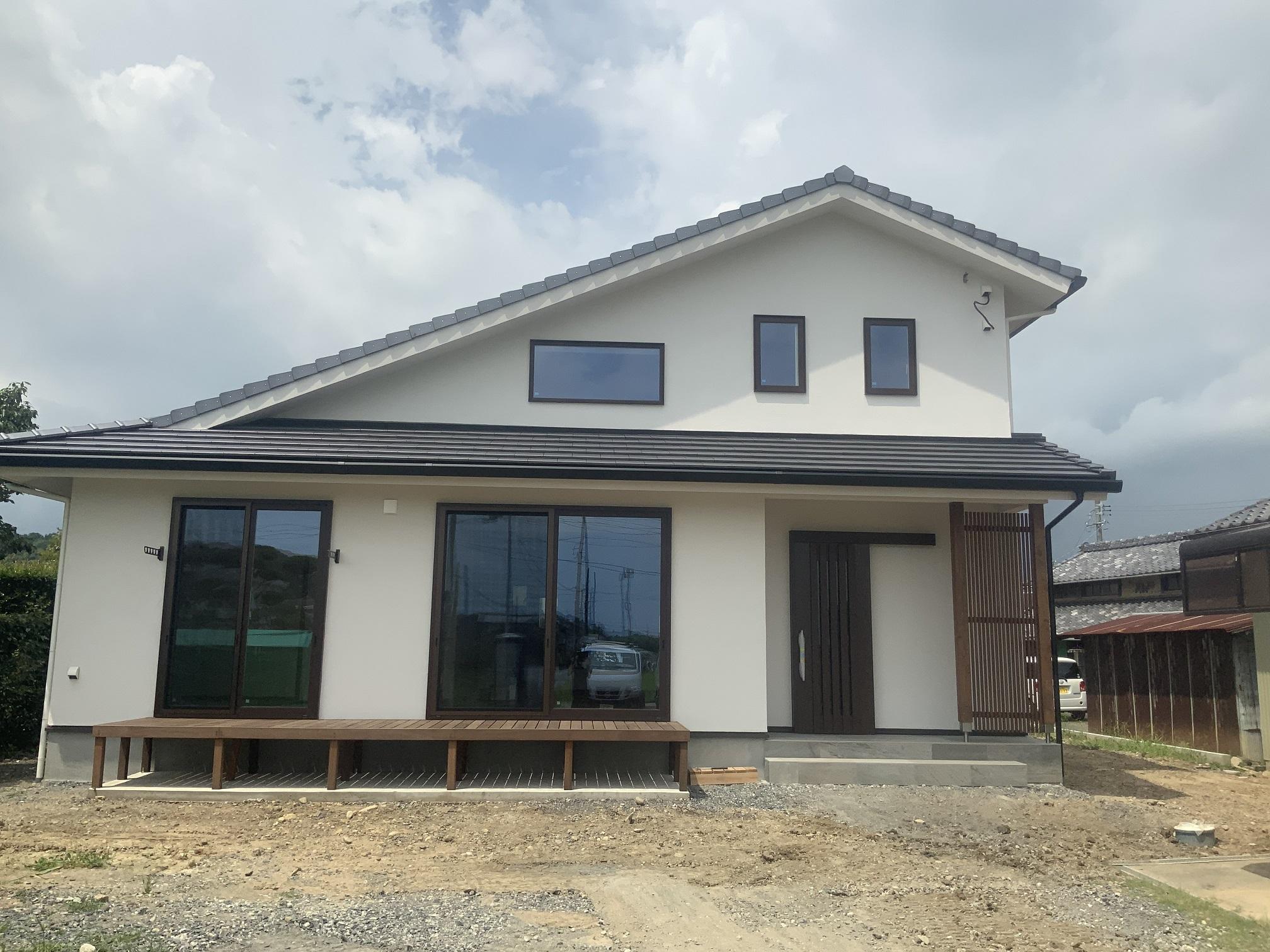新築戸建て住宅 和モダン完成