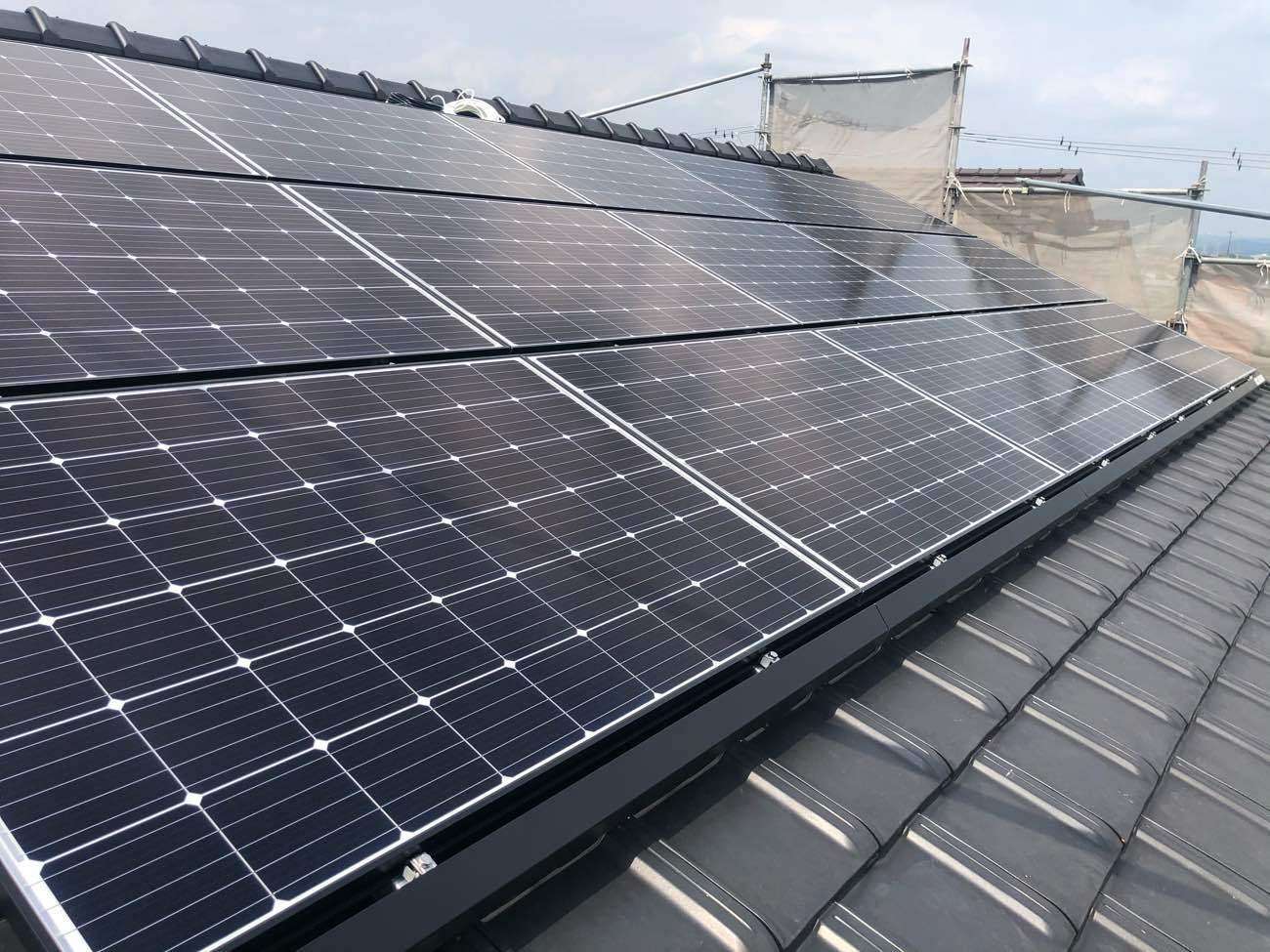 我が家の太陽光発電~年間報告