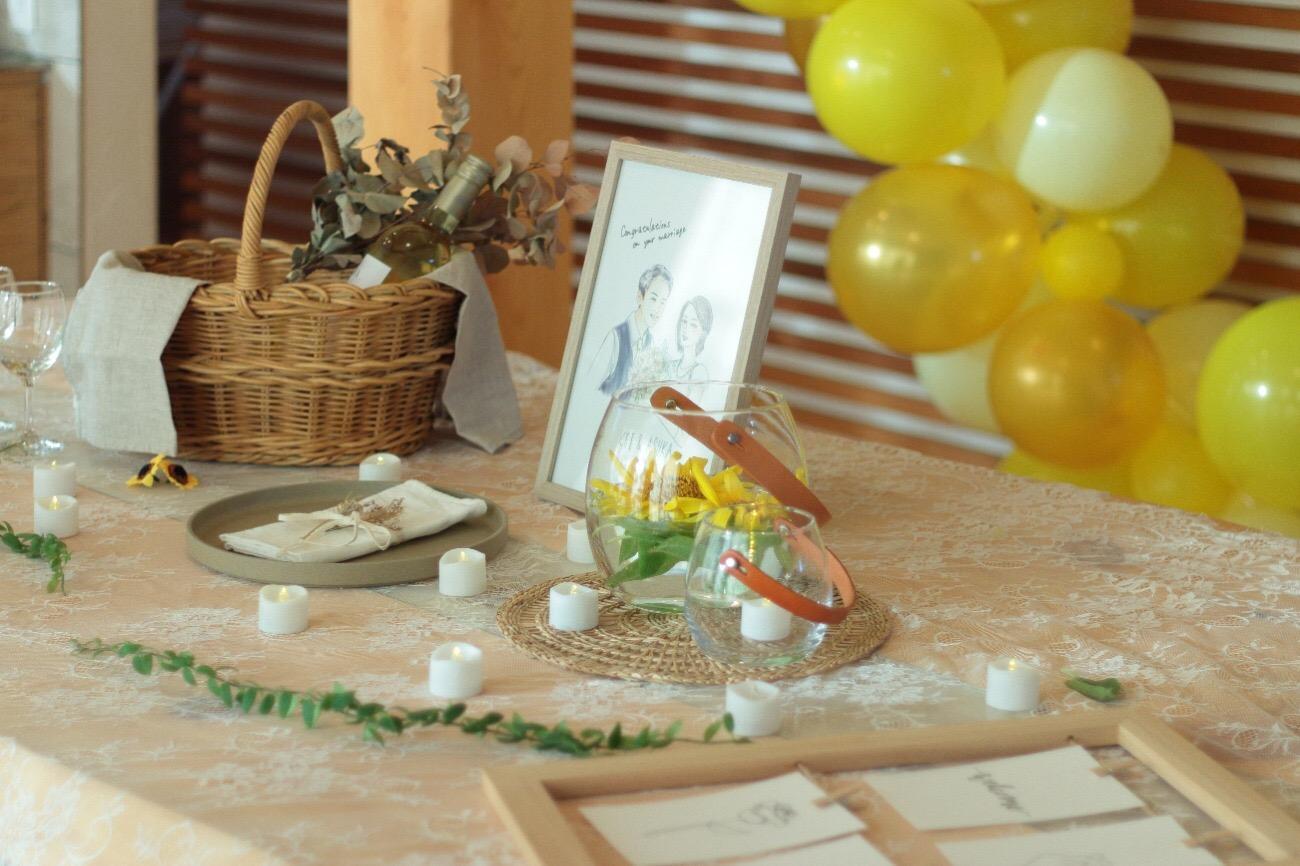 エモトープで結婚式