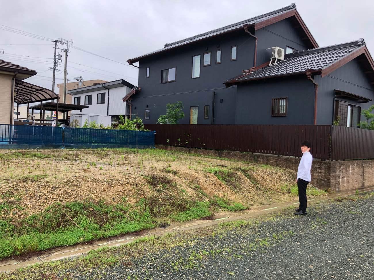 敷地の高低差